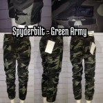 Spyderbilt Jogger Pants Green Army