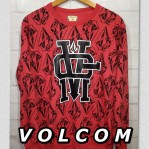 Sweater Jumpers Volcom Red Print