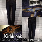 Celana jeans distro pria blue washed