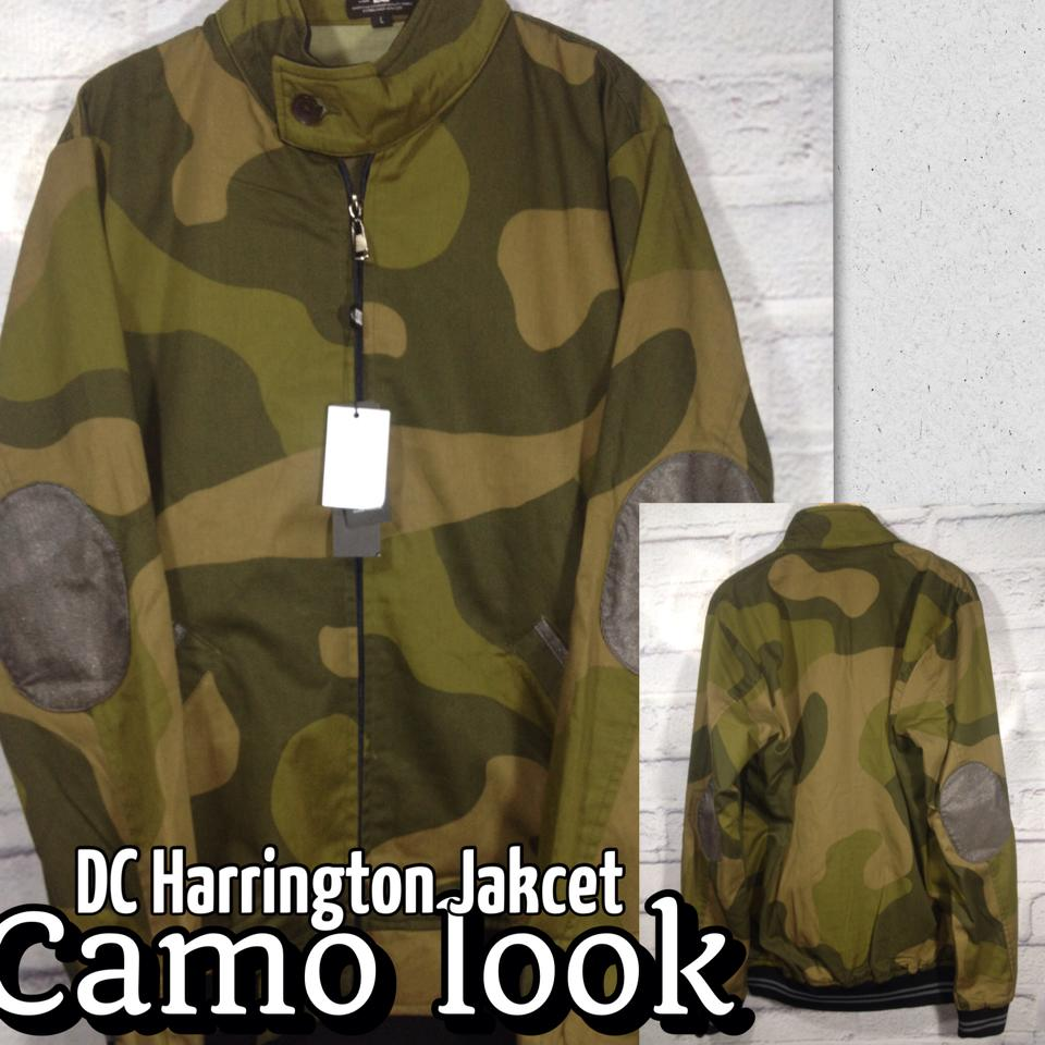 Jacket distro Dc harrington army look