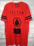 Kaos volcom surfing Kanaya red