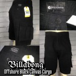 Billabong Offshore Black canvas short cargo