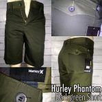 Celana katun Hurley phantom Dark Green Short