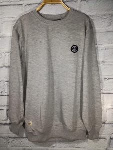 Sweater Murah dan Keren Volcom Mini gray Limited